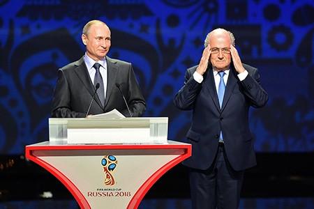 Bên lề buổi bốc thăm vòng loại World Cup 2018: Gạt bỏ phiền toái - ảnh 1