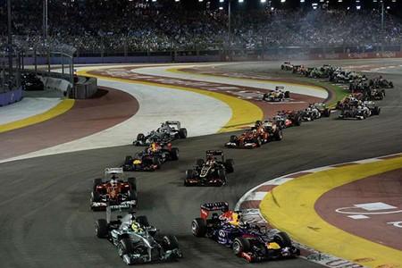 Đường đua F1 Singapore thay đổi để hấp dẫn hơn - ảnh 1