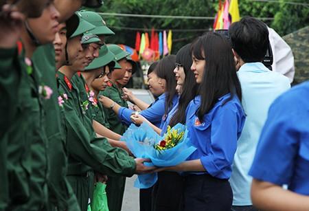 TP.HCM: Hơn 1.200 thanh niên tình nguyện nhập ngũ  - ảnh 30