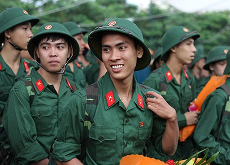 TP.HCM: Hơn 1.200 thanh niên tình nguyện nhập ngũ  - ảnh 23