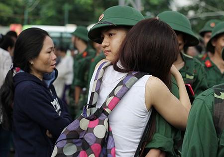 TP.HCM: Hơn 1.200 thanh niên tình nguyện nhập ngũ  - ảnh 26