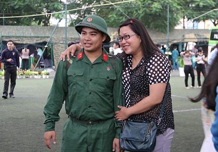 TP.HCM: Hơn 1.200 thanh niên tình nguyện nhập ngũ  - ảnh 28