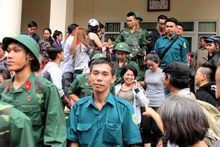 TP.HCM: Hơn 1.200 thanh niên tình nguyện nhập ngũ  - ảnh 9