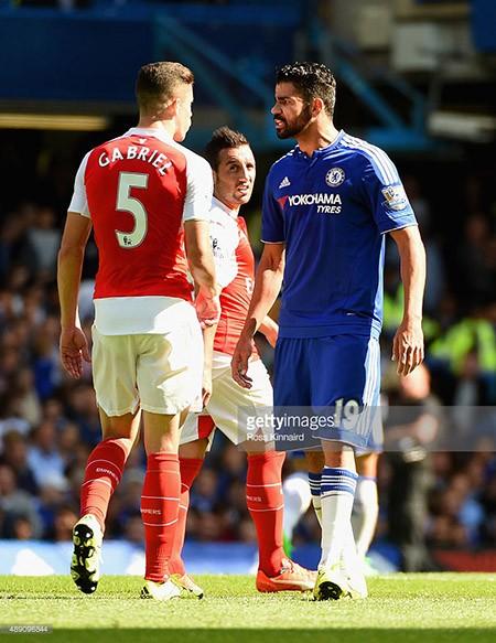 Chelsea 2-0 Arsenal : 'Pháo thủ' sụp đổ vì hai chiếc thẻ đỏ - ảnh 1