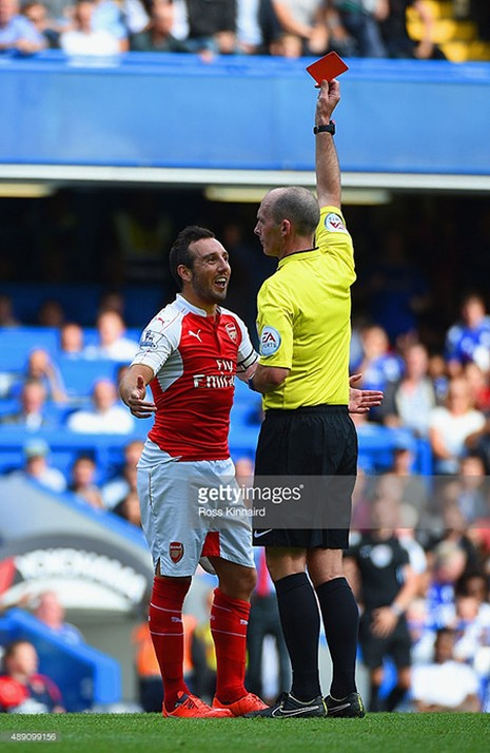 Chelsea 2-0 Arsenal : 'Pháo thủ' sụp đổ vì hai chiếc thẻ đỏ - ảnh 2