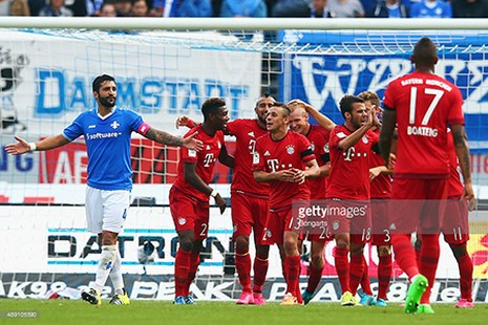 Darmstadt 0-3 Bayern Munich: 'Hùm xám' ra oai - ảnh 3