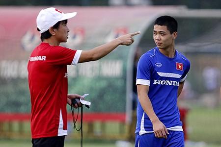 Chùm ảnh tuyển Việt Nam tập luyện chuẩn bị 'đấu' Thái Lan - ảnh 12