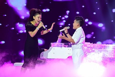'Công chúa tóc mây' Hồng Minh đăng quang The Voice Kids 2015 - ảnh 6