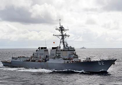 Tàu chiến Mỹ vào sát đá Subi, Vành Khăn - ảnh 1