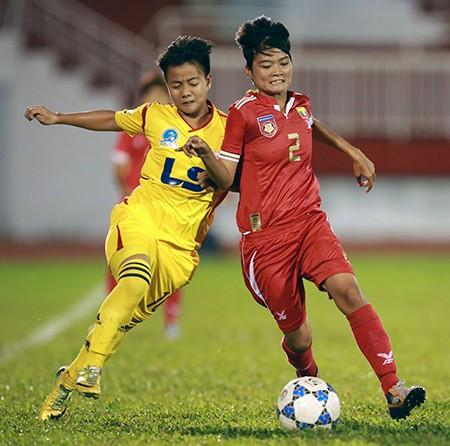 Đội nữ TP.HCM vô địch giải bóng đá quốc tế mở rộng - ảnh 5
