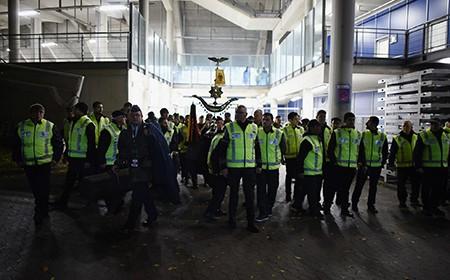 Chùm ảnh nước Đức báo động vì bị đe dọa khủng bố - ảnh 25
