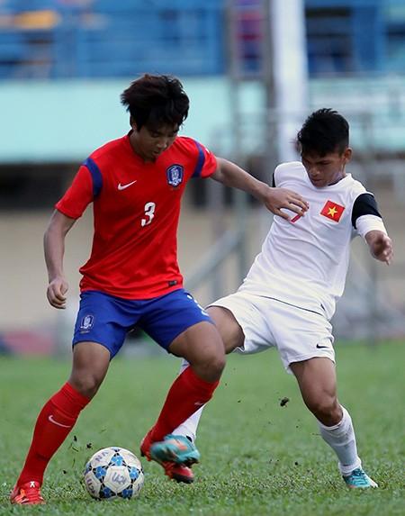 U-21 Việt Nam 0-0 U-19 Hàn Quốc: Hài lòng cả đôi bên - ảnh 1