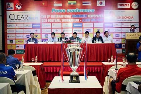 Giải U21 quốc tế báo Thanh Niên: Điểm binh trước giờ bóng lăn - ảnh 1