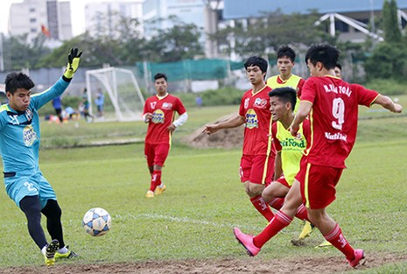 U21 HAGL - U21 Myanmar: Cuộc chiến khu trung tuyến - ảnh 1