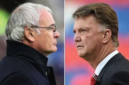 Tiết lộ: Ranieri từng ba lần liên tiếp thắng Van Gaal - ảnh 1