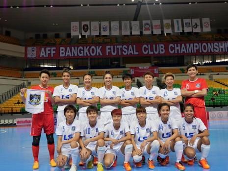Giải futsal nữ các CLB Đông Nam Á 2015: Thái Sơn Nam vào chung kết - ảnh 1