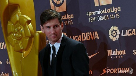 Messi đoạt danh hiệu tiền đạo xuất sắc nhất La Liga - ảnh 1