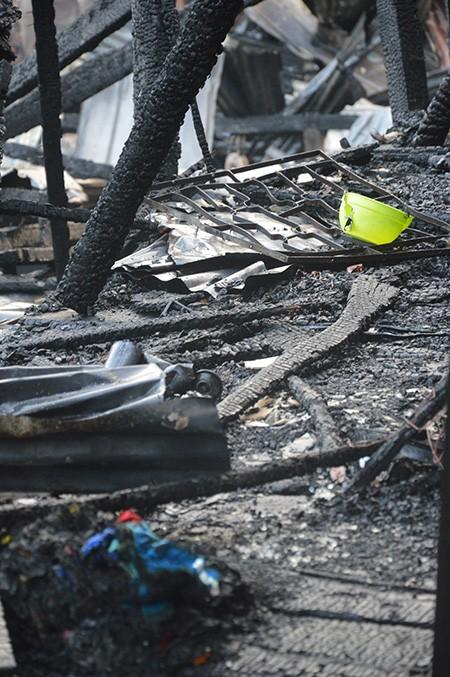 Đồng Tháp: Bà hỏa thiêu rụi tám gian hàng ở chợ Tân Tịch - ảnh 2