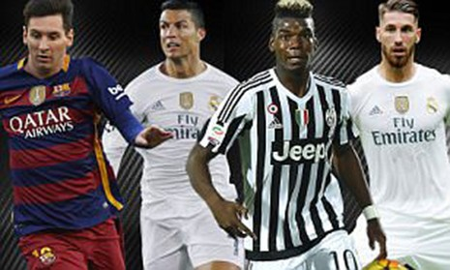 Nóng: UEFA công bố đội hình xuất sắc nhất năm 2015 - ảnh 1