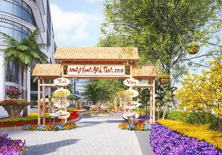 Xem trước hình ảnh 'Hội chợ hoa xuân Phú Mỹ Hưng 2016' - ảnh 2