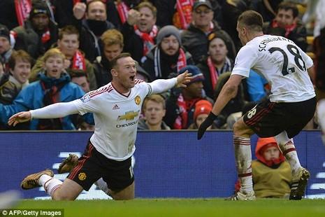 Cầu thủ Man Utd cãi nhau om sòm giữa trận đấu với Liverpool - ảnh 1