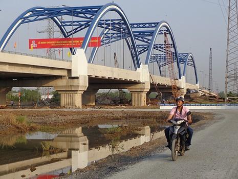 Khánh thành cầu Rạch Chiếc mới trên đường vành đai Đông - ảnh 2