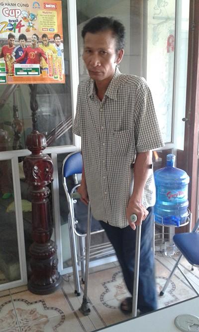 Một bệnh binh hơn 20 năm sống trong cảnh không nhà - ảnh 1
