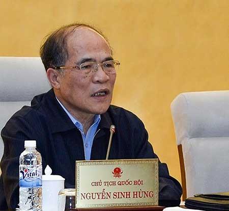 Chủ tịch QH Nguyễn Sinh Hùng: Đại biểu có yên tâm là đã hoàn thành nhiệm vụ? - ảnh 1