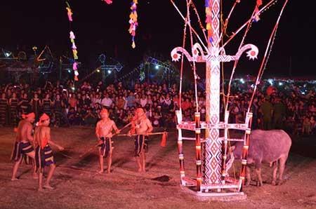 Dân làng không muốn bỏ lễ hội đâm trâu - ảnh 1