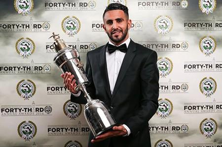 Riyad Mahrez giành giải cầu thủ xuất sắc nhất năm của PFA - ảnh 1
