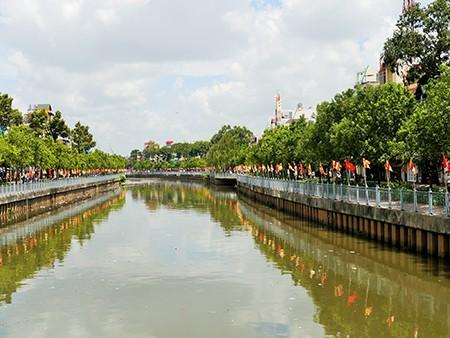 Sài Gòn rực rỡ cờ hoa đón lễ Phật đản - ảnh 2