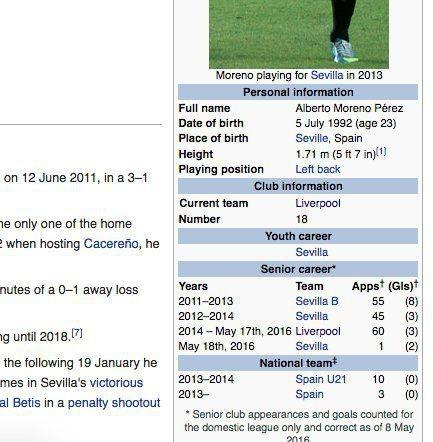 Chết cười với màn sửa lý lịch 'tội đồ' Moreno của CĐV Liverpool - ảnh 2