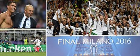 Real Madrid vô địch Champions League sau loạt sút luân lưu nghẹt thở - ảnh 1