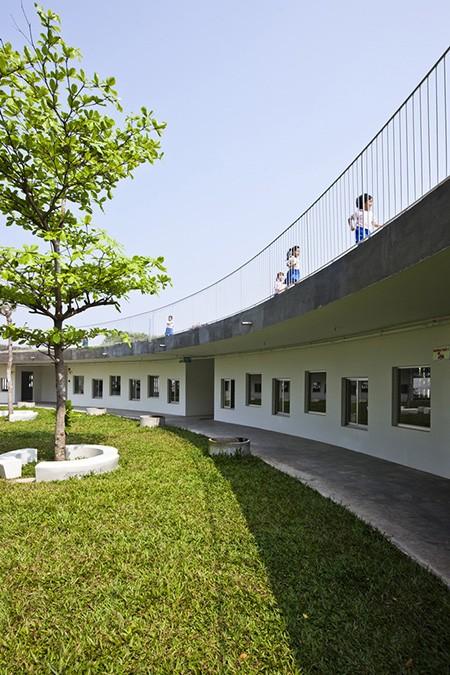 Hiện thực ngôi trường vào top 30 công trình đẹp nhất thế giới - ảnh 8