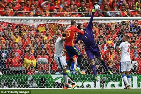 Pique tỏa sáng phút cuối,  Tây Ban Nha thở phào nhẹ nhõm - ảnh 1