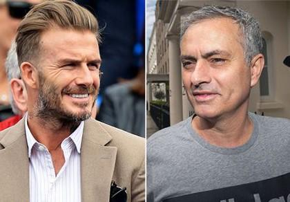 Beckham: 'Tôi không thể chờ đợi thêm để xem Mourinho và MU' - ảnh 1