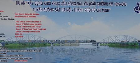 Chùm ảnh: Cầu Ghềnh mới trước ngày thông tàu - ảnh 1