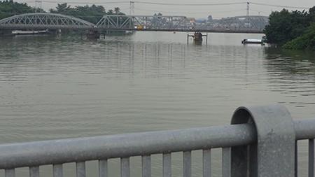 Chùm ảnh: Cầu Ghềnh mới trước ngày thông tàu - ảnh 10