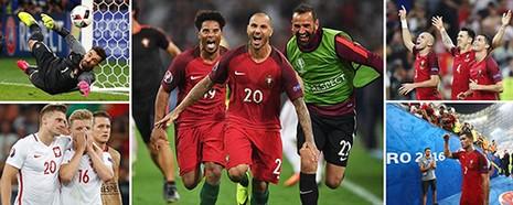 Poland 1-1 Portugal (AET, 3-5, Penalty): 'Đại bàng' gãy cánh! - ảnh 1