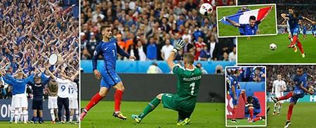 Thắng 'hủy diệt' Iceland, Pháp hẹn Đức ở bán kết Euro 2016 - ảnh 2