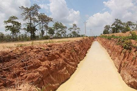 Đào hào ngăn voi rừng, doanh nghiệp bị phạt 50 triệu đồng - ảnh 2