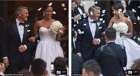 Chùm ảnh đội trưởng tuyển Đức kết hôn với mỹ nhân làng quần vợt - ảnh 6