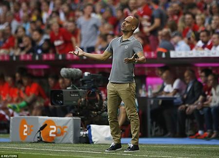Guardiola bại trận trước 'tình cũ' Bayern trong ngày ra mắt Man. City - ảnh 8
