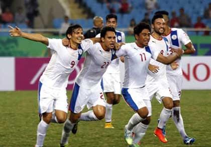 Đội tuyển Philippines chuẩn bị cho AFF Cup 2016 - ảnh 1