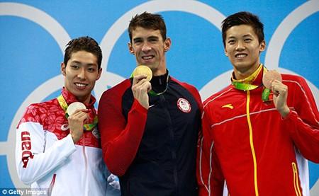 Siêu kình ngư Michael Phelps giành HCV thứ 22 - ảnh 10