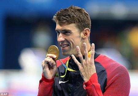 Siêu kình ngư Michael Phelps giành HCV thứ 22 - ảnh 12