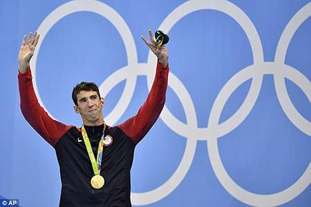 Siêu kình ngư Michael Phelps giành HCV thứ 22 - ảnh 13