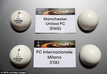 Bốc thăm Europa League: M.U rơi vào bảng khó - ảnh 1