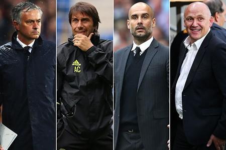 Mourinho, Guardiola, Conte 'đại chiến' cho danh hiệu xuất sắc nhất tháng - ảnh 1