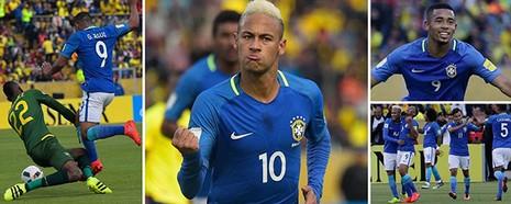 Messi gọi, Neymar trả lời, Brazil thắng lớn Ecuador - ảnh 5